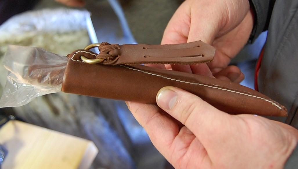 Как делать ножны своими руками