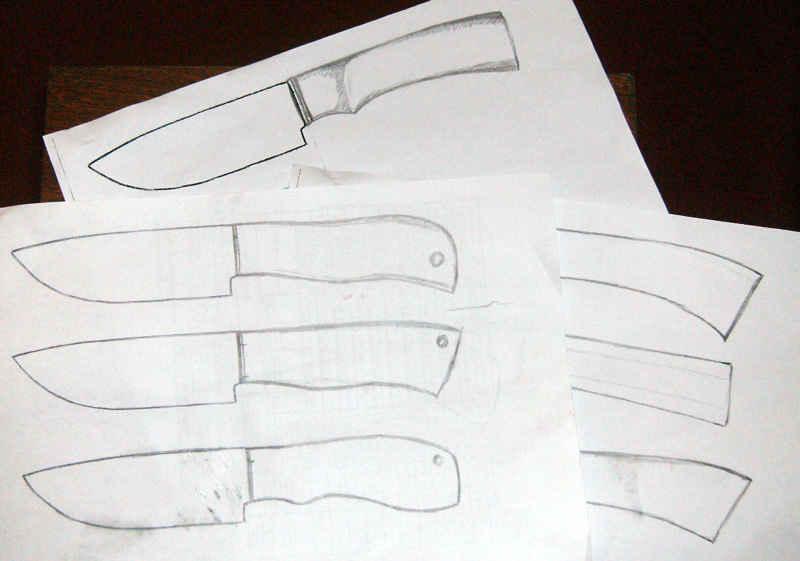 Видео как сделать нож из бумаги своими руками