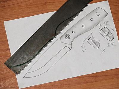 шаблон для изготовления ножа означает если приснилась