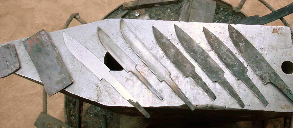 Ножи из титана своими руками