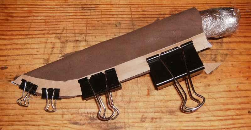 Из чего и как сделать ножны