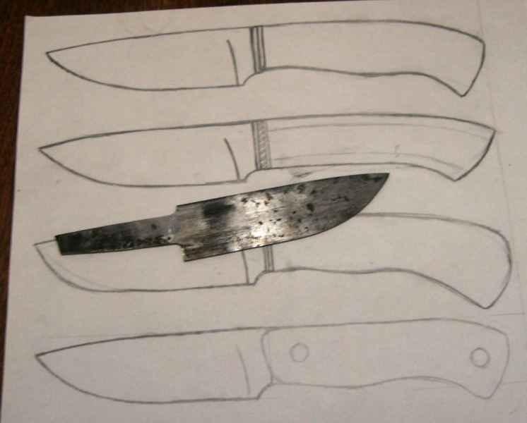 Как сделать нож в домашних условиях из бумаги 59