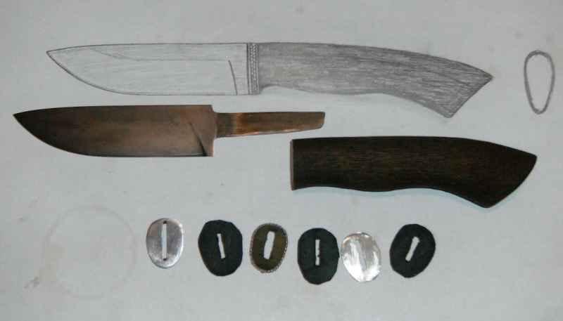 Нож своими руками купить