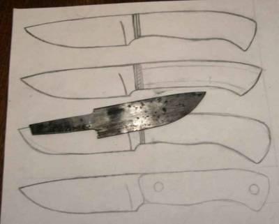 Изготовить нож своими руками