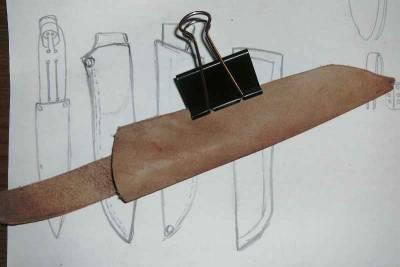 Сделать ножны своими руками