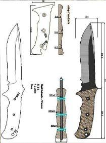 Изготовление рукоятки ножей