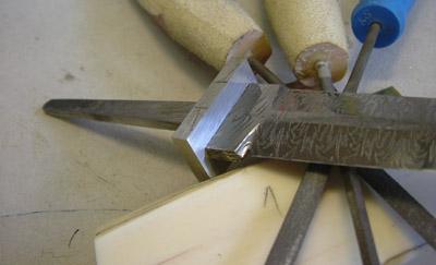 Изготовление рукоятки для ножей своими руками фото 387