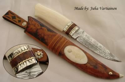 Рукоятки ножей своими руками из дерева