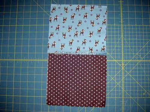 Как сшить два куска ткани