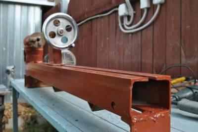 Деревообрабатывающие токарные станки для дома своими руками