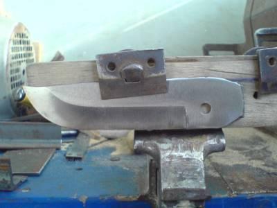 Спуски ножей своими руками