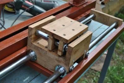 Токарный станок деревообрабатывающий своими руками