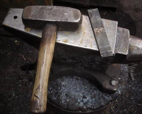 Как ковать нож своими руками фото 450