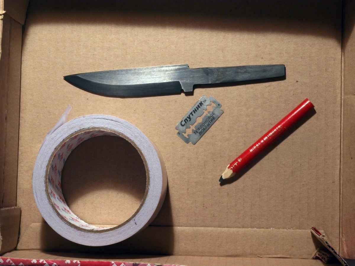 Макет ножа своими руками