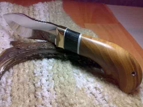 Из чего сделать ручку для ножа своими