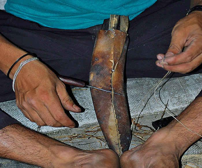 Ножны для кукри своими руками