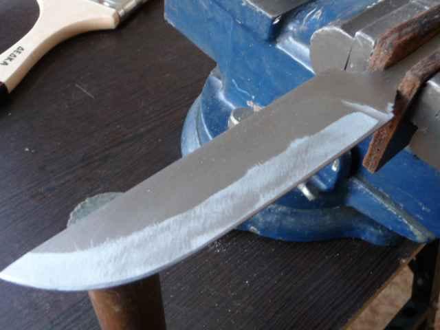 Из чего изготовить нож в домашних условиях 2
