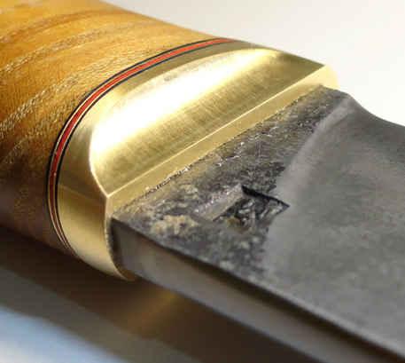 Как сделать больстер для ножа из монеты