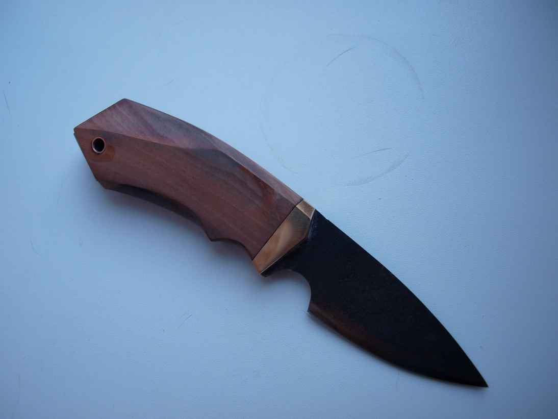 Нож из пилы по металлу