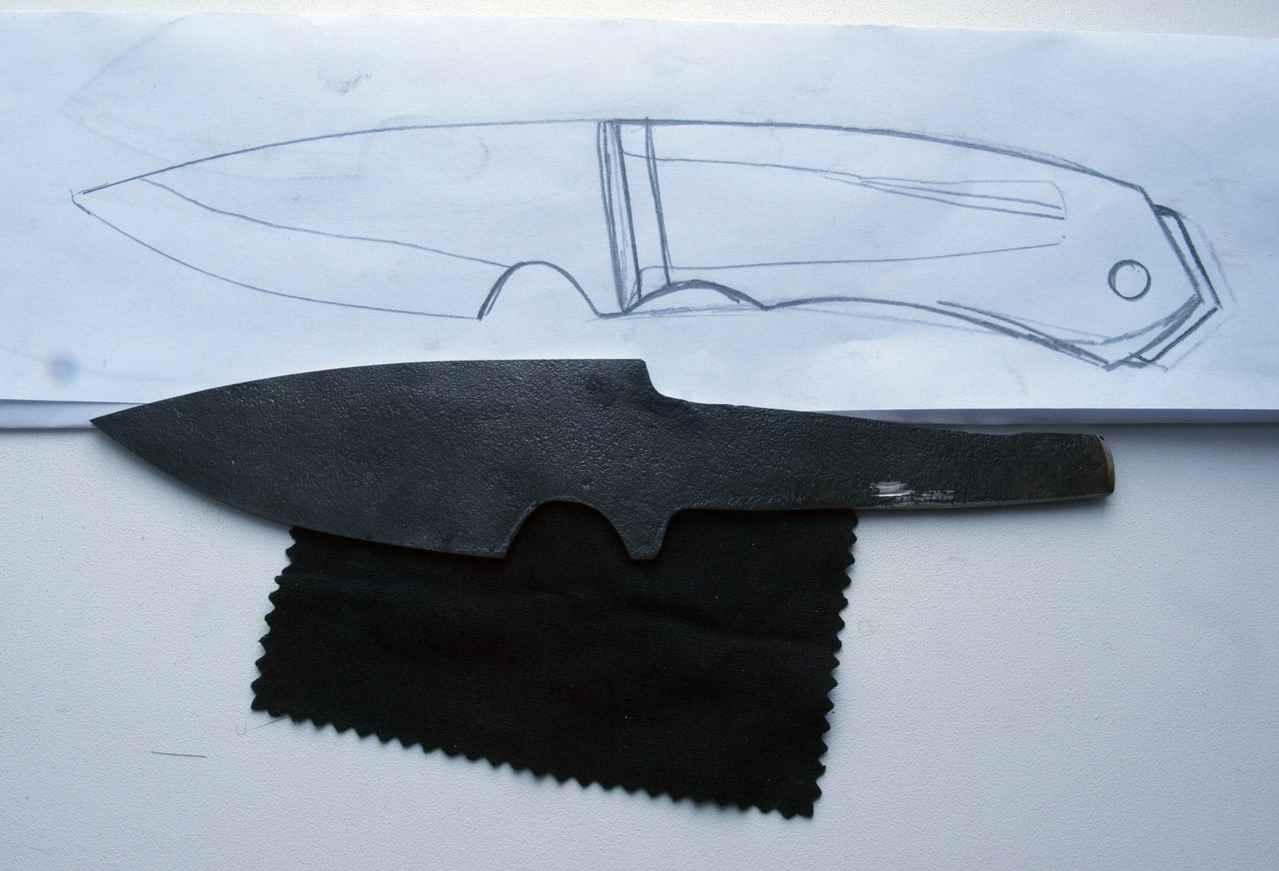 Нож из пилы своими руками фото