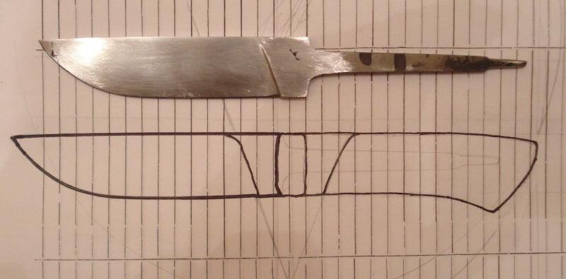 Сделать своими руками ручку кухонного ножа