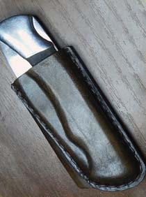 Сделать чехол для ножа из кожи своими руками