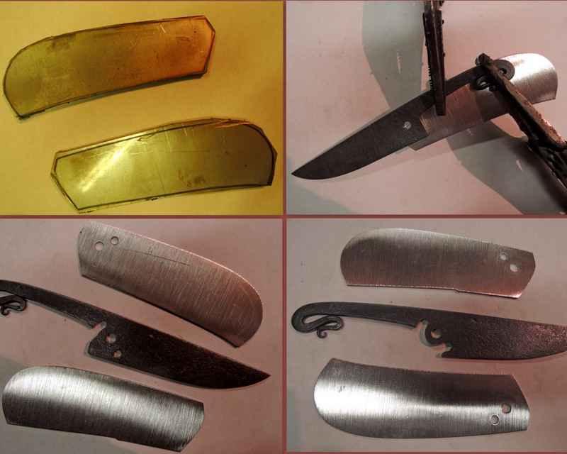 Как сделан нож складной 379