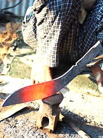 Как ковать нож своими руками фото 914
