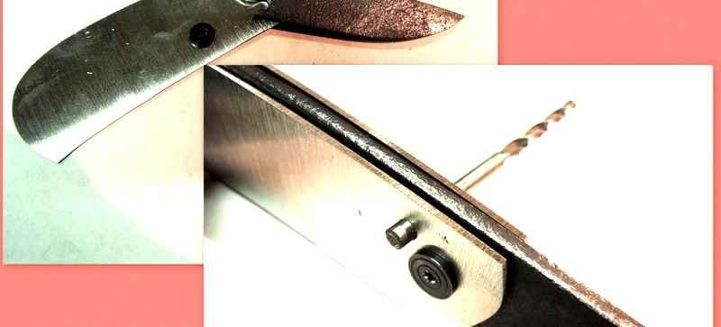 Как сделать складной нож своими руками