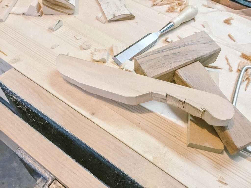 Деревянные ножи своими руками